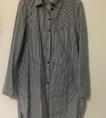 Dolga srajca-tunika na črte