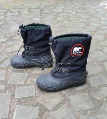 SOREL št. 37 nepremočljivi zimski škornji