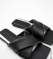 Zara pravo usnje sandali - mpc 30 eur