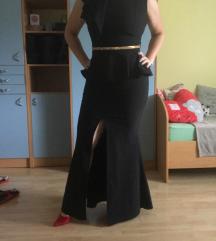 Črna maturantska obleka