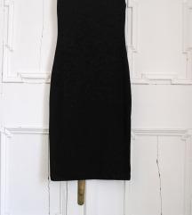 Črna oprijeta obleka zara