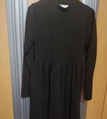 Crna debelejsa obleka/tunika