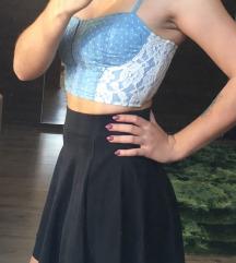Obleka in crop top