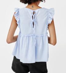 Blue sleeveless top