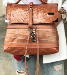 Usnjena torbica(pravo usnje-UNIKAT)