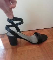 Vitulli črni sandali
