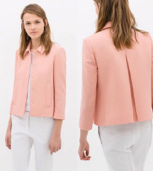 Zara NOV rožnat blazer