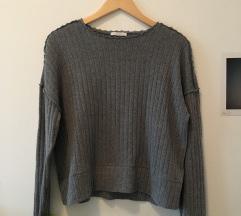 zara siv pulover