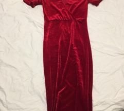 Rdeca obleka ZARA