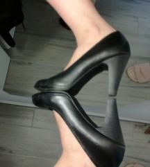 Črni čevlji na visoko peto Graceland 38