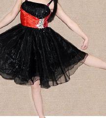svečana črna obleka