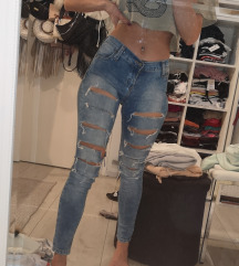 Ripped jeans xs