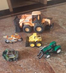 igrače avto kamion bager avtomobili