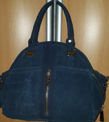 Usnjena torbica(pravo usnje-semiš)Elle