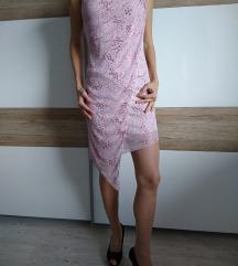 Čudovita obleka s svetlečimi dodatki, XS