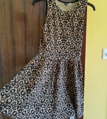 H&m NOVA tigrasta obleka