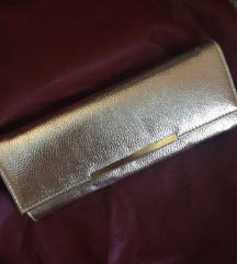 Zlata ročna torbica
