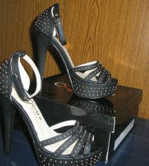 Črni sandali, št.36
