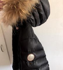 luhta zimska bunda pravo krzno