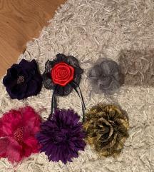 6 x broška roža.