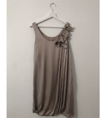[NOVO!] Elegantna srebrna / siva oblekica