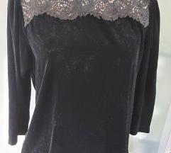 Žametna bluza Zara