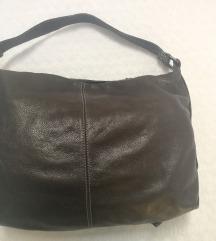 Rjava usnjena torbica