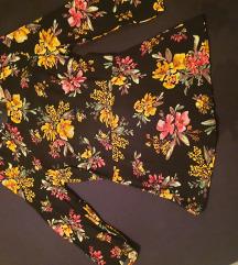 Zara majica z rožami S
