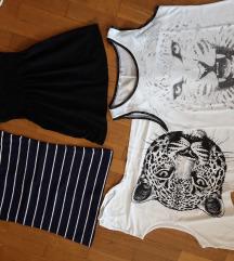 Več različnih majic S/M  ☀️