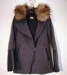 Prehodna jakna s krznom