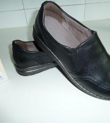 NOVI čevlji, PRAVO USNJE, Vel. 6 (39)
