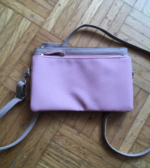 Rjavo roza torbica