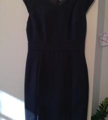 poslovna črna obleka NOVA 38