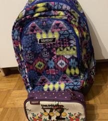 Šolska torba+peresnica(puščica) TARGET