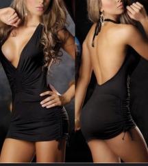 NOVA črna sexy oblekca S/M