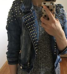 Jeans jakna z netki