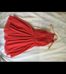 ZNIŽANA! Rdeča svečana oblekica
