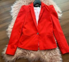ZARA rdeč blazer (MPC:50 EUR)