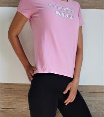 Majica s kratkimi rokavi, roza, XS