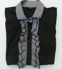 Posebna crna  bluza  PTT vstet  36 /