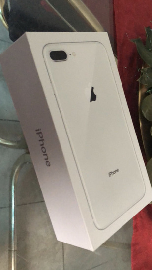 Iphone 8 plus 256 silver