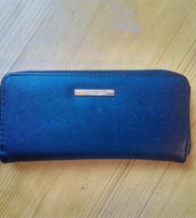 Črna denarnica BERSHKA