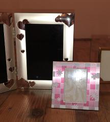3 različni novi okvirji za slike-vsi trije 12€