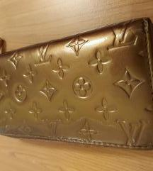 LOUIS VUITTON fake denarnica zlata