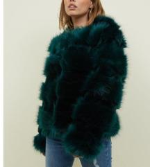 Nova umetno krzno jakna