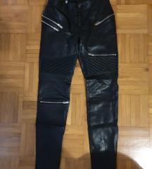 usnjene hlače // ZARA