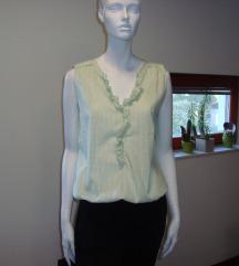 Pastelno zelena bluza