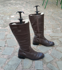 PEKO št. 39 pravo usnje škornji kot novi