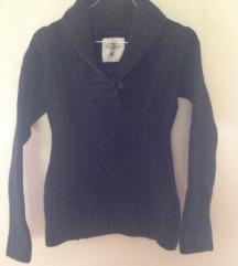 NOV Siv volnen pulover