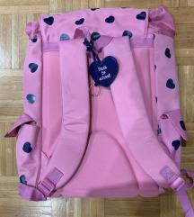 Nova šolska torba-dekliška